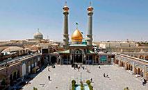 Santuário xiita Shah Abdol Azim em Teerã, em 25 de maio de 2020 (AFP)