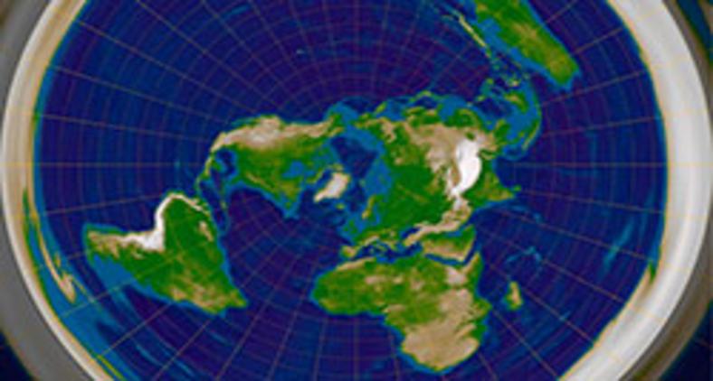 Para negacionistas, se a bíblia diz que o sol parou para que Josué vencesse sua batalha (Js.10,13), então isso seria uma prova divina de que é o sol gira em torno da Terra e de que ela é plana (RokerHRO/ Wikimedia)