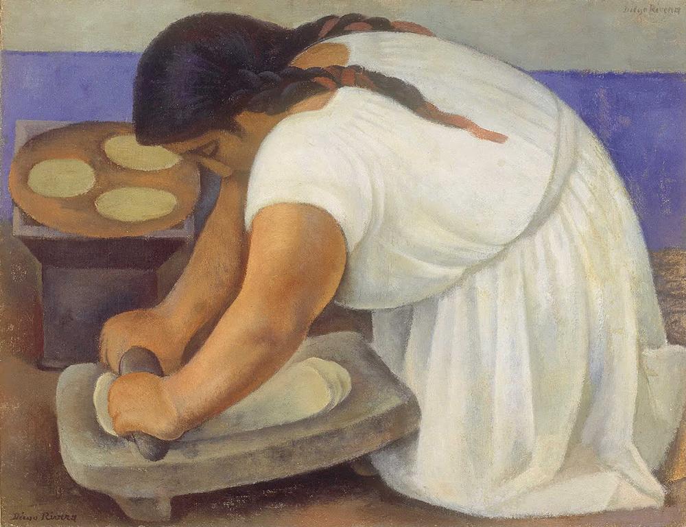 'A moedora', de Diego Riveras
