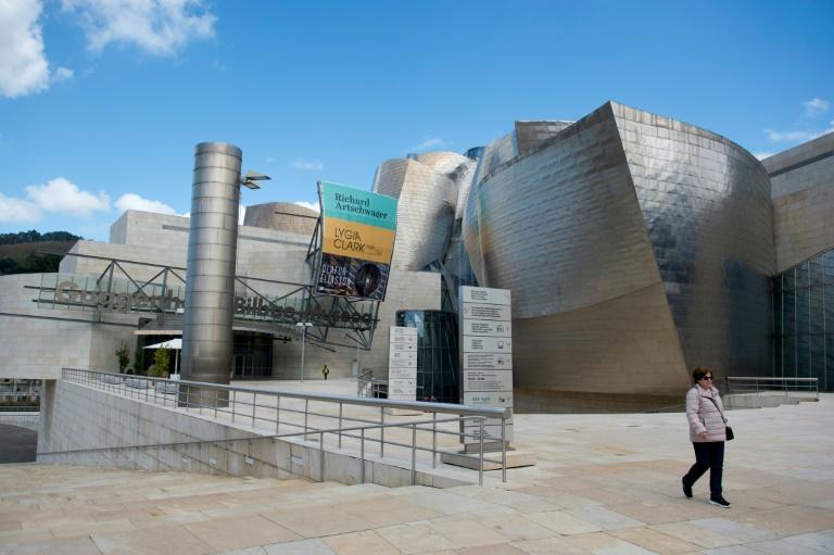 Museu Guggenheim, em Bilbao, em 4 de março de 2020