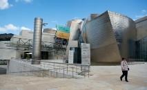 Museu Guggenheim, em Bilbao, em 4 de março de 2020 (AFP)