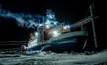 Durante 390 dias, quase 600 especialistas e cientistas trabalham em rodízio no navio (Alfred Wegener Institut/AFP)