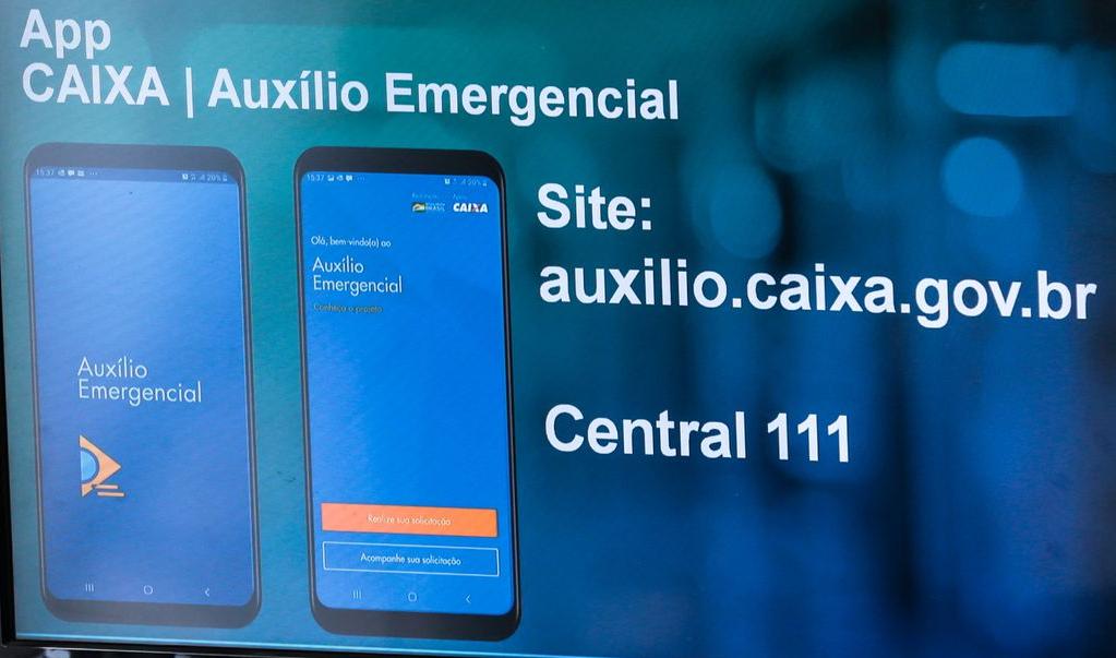 Segundo a Caixa, mais de 50 bancos participam da operação de pagamento do auxílio emergencial