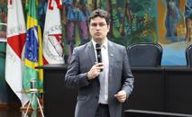 O controlador-geral de MG Rodrigo Fontenelle lançou um podcast do órgão (Luiz Gustavo Ribeiro/TCE-MG)