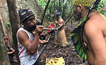 Povo Huni Kuin está em alerta contra a Covid-19. (Ninawa Inu Huni Kuin/Amazônia Real)