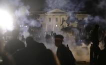 Estados Unidos enfrentam uma onda de protestos não vistos desde os anos 1960, durante a luta pelos direitos civis (Jonathan Ernst/ Reuters)