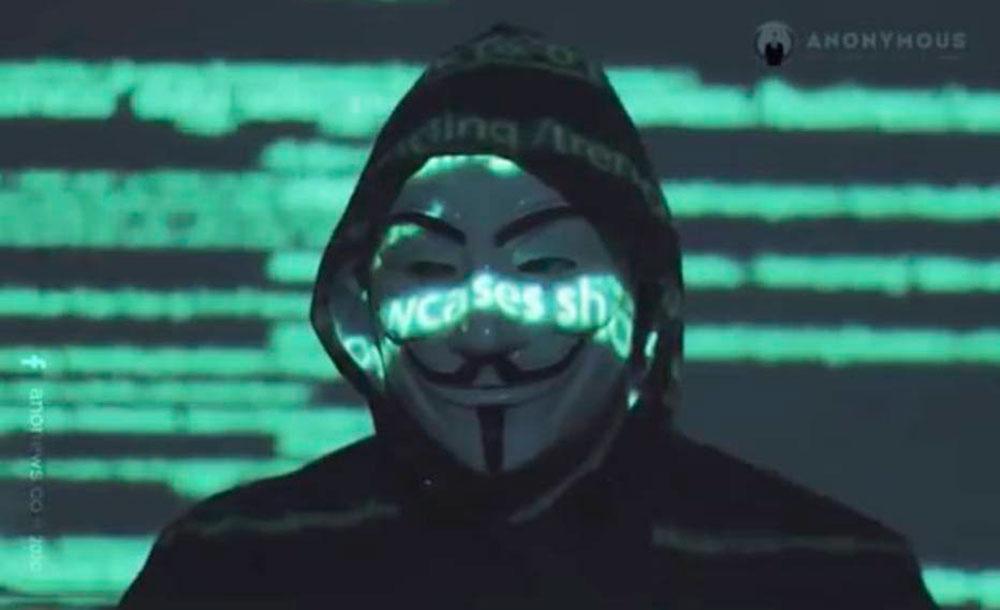 A Anonymous atua em outros países e ressurgiu no último domingo, 31, após desdobramentos do caso de George Floyd