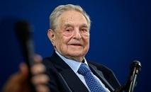 O investidor e filantropo George Soros em 23 de janeiro de 2020 no Fórum Econômico Mundial, em Davos, Suíça (AFP/Arquivos)
