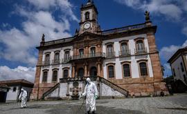 Minas Gerais é um dos oito estados que já registram mais casos no interior do que nas capitais e regiões metropolitanas (AFP)