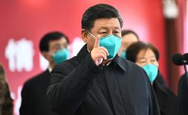 No total, a China somou 83.022 infectados e 4.634 óbitos causados pela Covid-19 (Xie Huanchi/AFP)