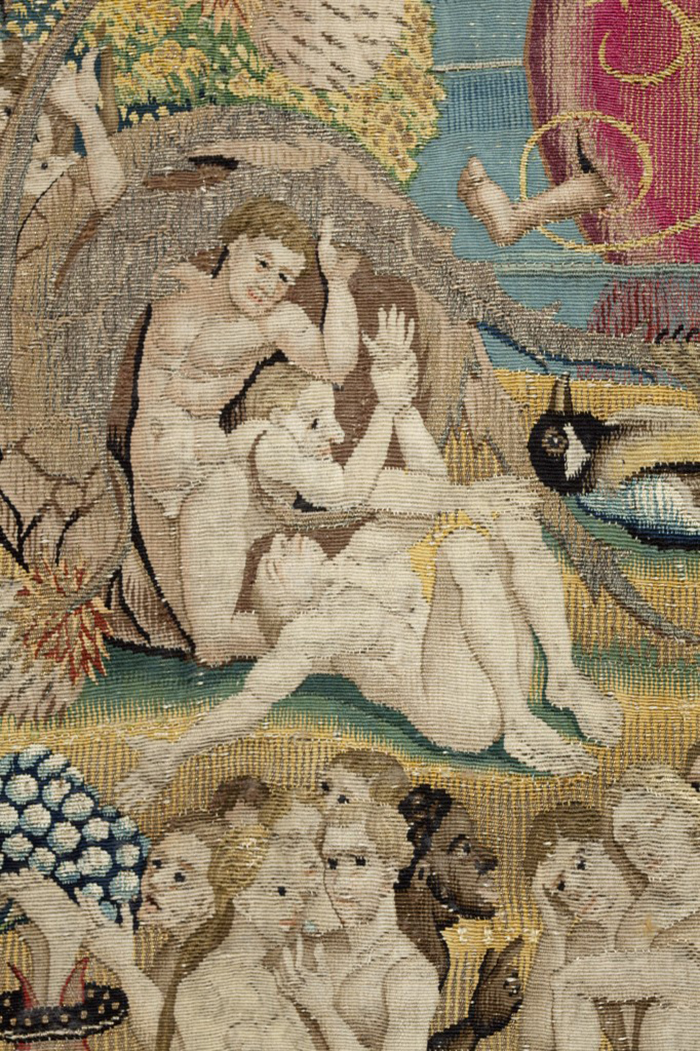 Fixismo doutrinário é a base do fundamentalismo religioso. Na imagem, trecho de tapeçaria inspirado em 'O jardim das delícias terrenas', Bosch