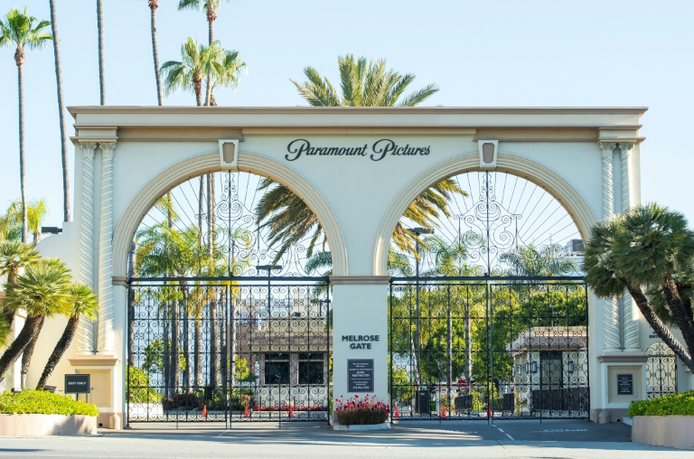 Os estúdios de Hollywood fecharam em março após ordens de confinamento para a pandemia
