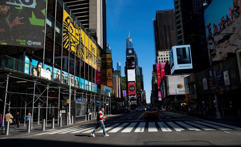Segundo o prefeito Bill de Blasio, é esperado que 400 mil nova-iorquinos voltem a trabalhar