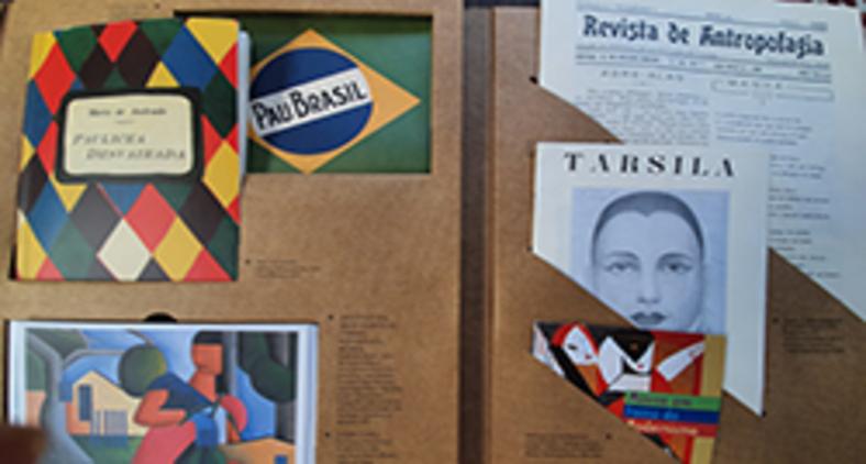 Caixa Modernista foi publicada em 2003 pela Imprensa Oficial do Estado de São Paulo/Edusp/UFMG e é um 'museu portátil' (Eleonora Santa Rosa)