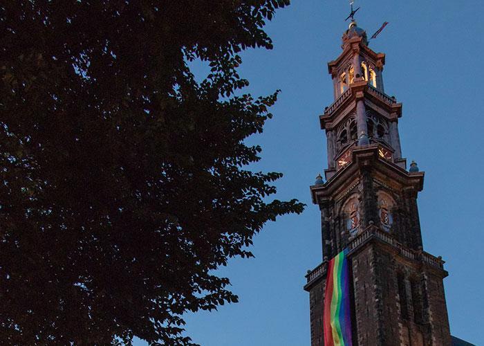 Amsterdam durante a semana do orgulho em 2019
