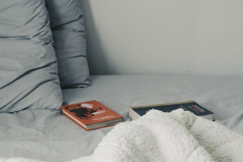 Leitura é consolo em meios aos desalentos