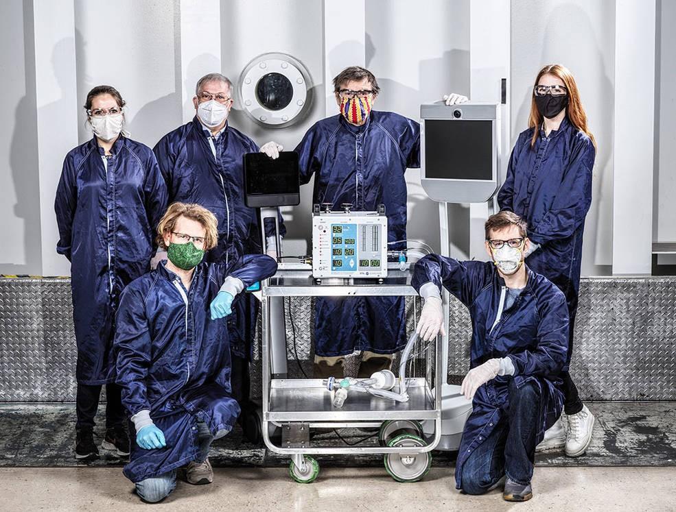 Engenheiros da Nasa desenvolveram protótipo de respirador mais barato e mais prático em apenas 37 dias