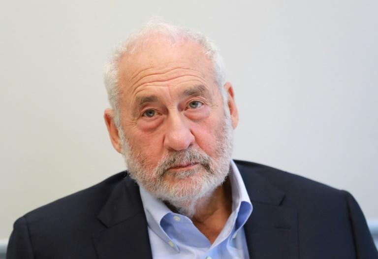 O americano Joseph Stiglitz em Paris em 19 de setembro de 2019