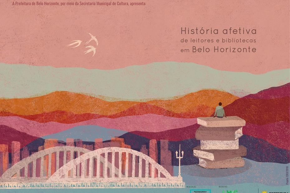 Projeto surge da ideia de retratar a relação do belo-horizontino com a leitura
