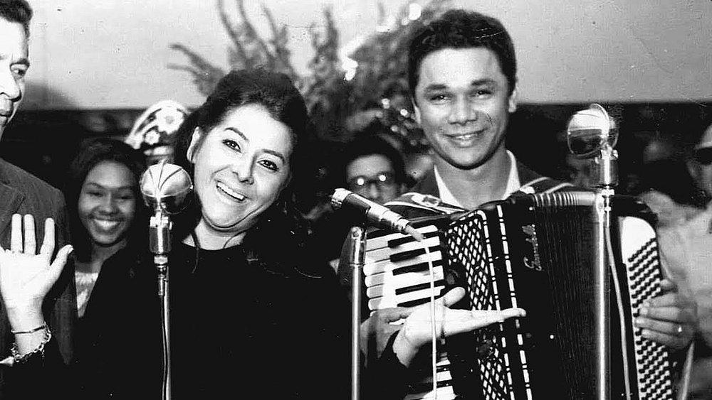 Anastácia com o sanfoneiro Dominguinhos: parceria no amor e na arte, que rendeu 250 canções