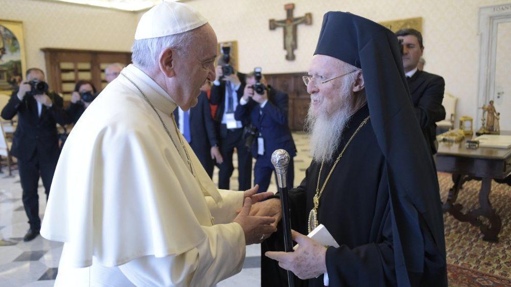 Em decorrência da pandemia, Patriarcado Ecumênico de Constantinopla não pôde enviar uma delegação a Roma