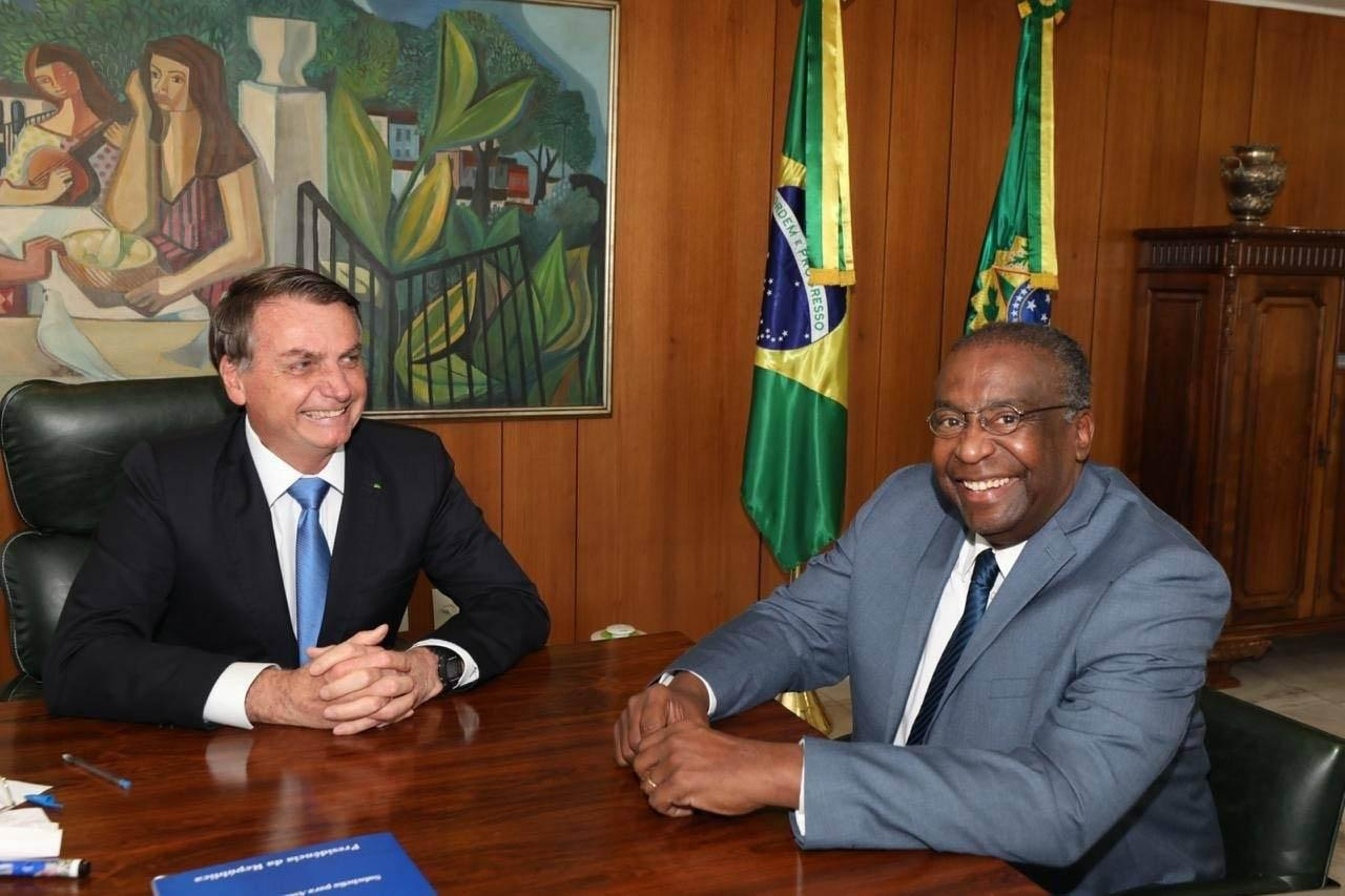 Bolsonaro nomeou o novo ministro na semana passada