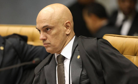 Alexandre de Moraes classificou o impedimento imposto à reportagem como 'antidemocrático' e sustentou que a restrição à livre manifestação de pensamento é 'repelida frontalmente pelo texto constitucional (Victoria Silva/AFP)