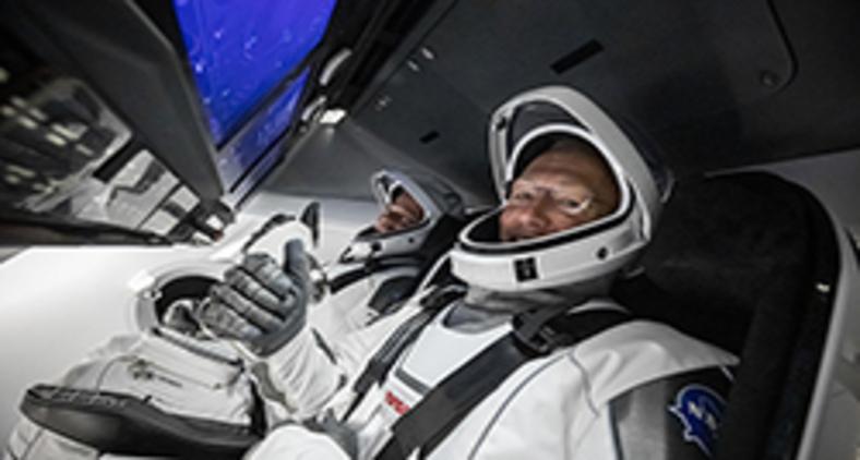 Tripulação pronta (SpaceX/ Twitter)