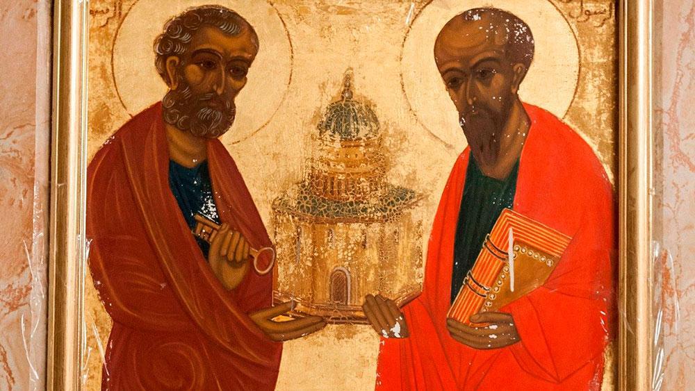 Simão e Saulo passaram por uma profunda transformação a partir do encontro com a pessoa de Jesus Cristo, tornado-se Pedro e Paulo