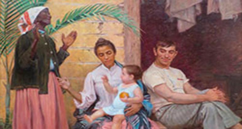 Um ícone do racismo: 'A redenção de Cam' (1895), do pintor Modesto Brocos (Wikimedia)