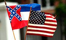 Mississippi é o último estado americano a retirar símbolo em sua bandeira (AFP Photo)