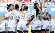 Em 118 anos de existência, o Real Madrid terá pela primeira vez uma equipe de futebol feminino a partir de 2020 (AFP/Arquivos)