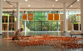 A 34ª edição da Bienal seria originalmente realizada em parceria com diversos outros espaços expositivos de São Paulo, e agora o plano é que as exposições sejam remanejadas (Pedro Ivo Trasferetti/Fundação Bienal de São Paulo)