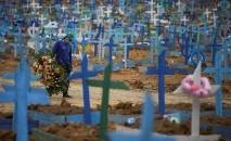 Covid-19 colocou ponto final na vida de milhares de brasileiros (Bruno Kelly/ Reuters)