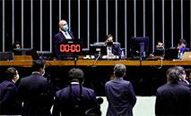 Presidente da Câmara Rodrigo Maia coordena a votação em primeiro turno (Maryanna Oliveira/Ag. Câmara)