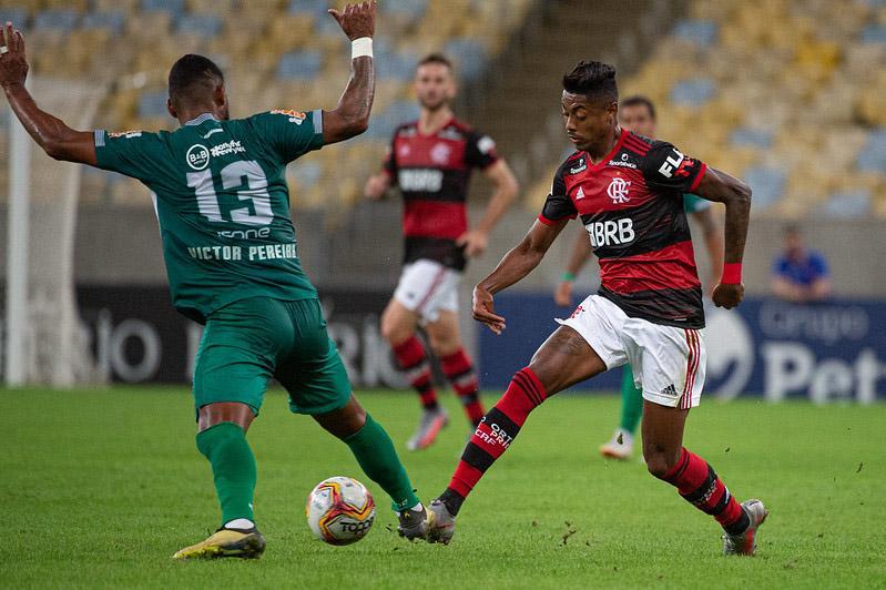Flamengo transmitiu partida pelos seus canais