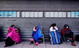 'Está claro que haverá um aumento das desigualdades' devido à pandemia, alertou a presidente do Banco Central Europeu, Christine Lagarde Arquivo de 23 de janeiro de 2020 monstra Lagarde, em coletiva de imprensa em Frankfurt, Alemanha. (Ronaldo Schemidt/AFP/Getty Images)