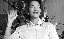 Martha Rocha ficou em segundo lugar no Miss Universo de 1954 (Arquivo)