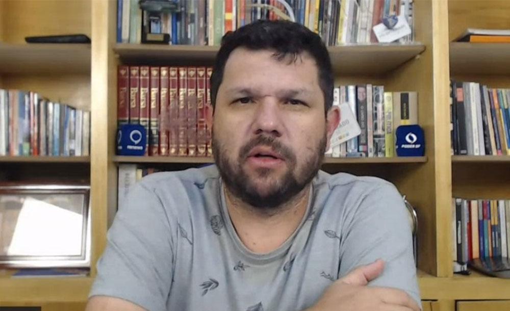 O blogueiro foi preso em 26 e junho, em Campo Grande, no Mato Grosso do Sul.