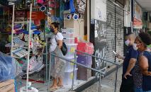Comércio de rua e salões de beleza reabrem antecipadamente com autorização da Prefeitura do Rio (Fernando Frazão/ABr)