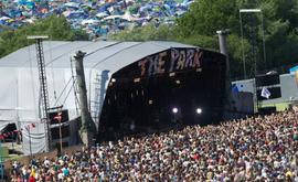 Festival de Artes Cênicas Contemporâneas de Glastonbury de 2013 (Arquivos/AFP)
