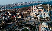 Complexo monumental de Santa Sofia em Istambul, Turquia (Vatican Media)