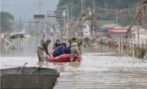 13 pessoas ainda são consideradas desaparecidas (AFP)