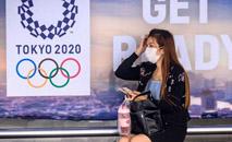 """77% dos participantes disseram acreditar que a Olimpíada """"não pode ser disputada"""" em 2021 (Mladen Antonov / AFP)"""