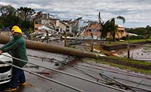 O novo ciclone deve ser menos intenso e não é classificado como ciclone bomba. (Agência Brasil)