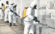 Desinfecção e higienização das ruas e espaços públicos em Salvador (Max Haack/Secom)