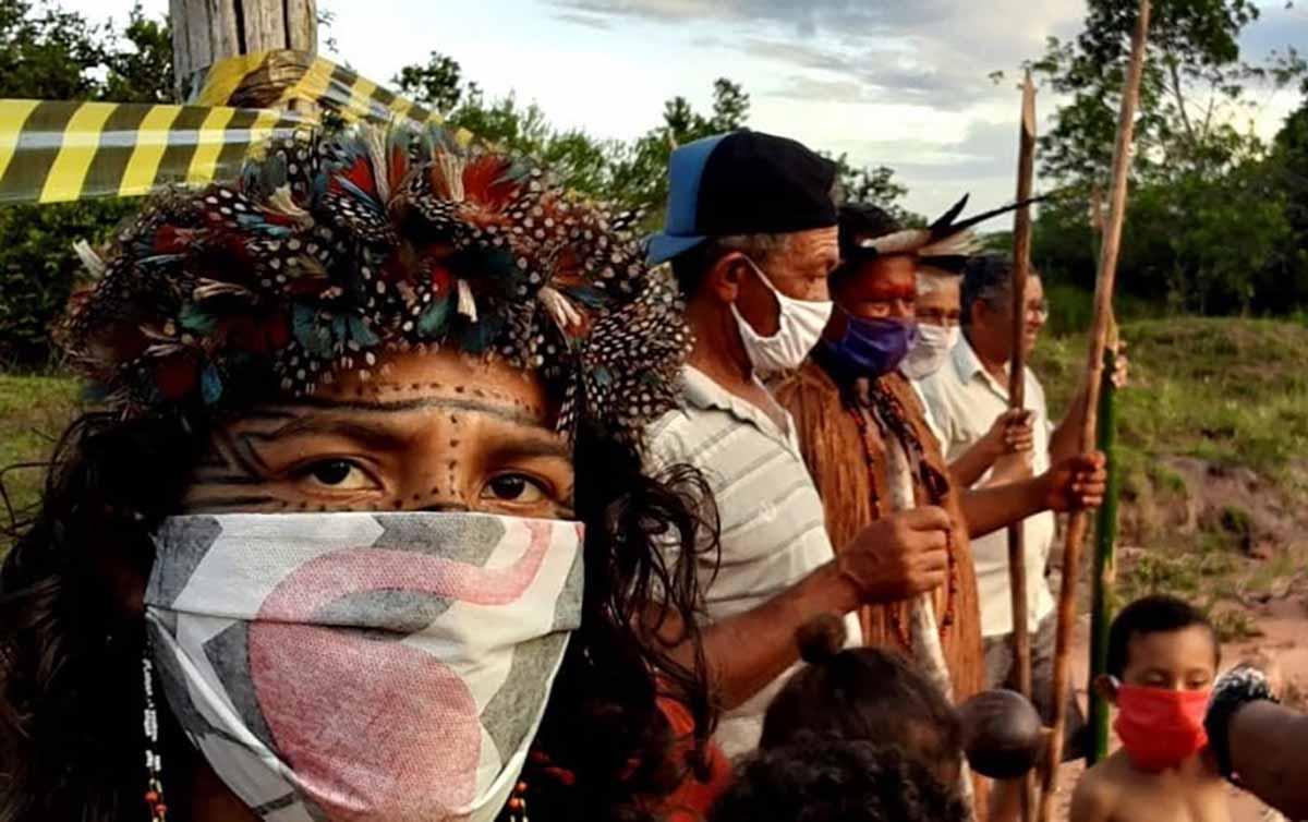 Povo Pataxó na aldeia Mucugê, Terra Indígena Comexatibá
