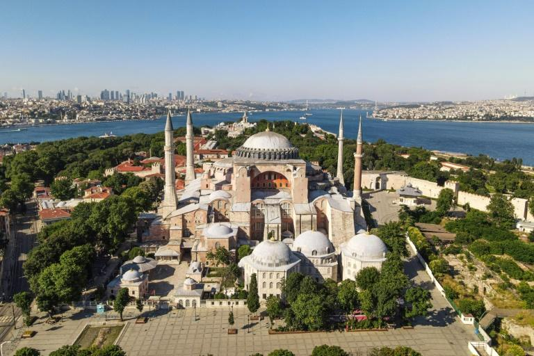 Basílica de Santa Sofia em Istambul