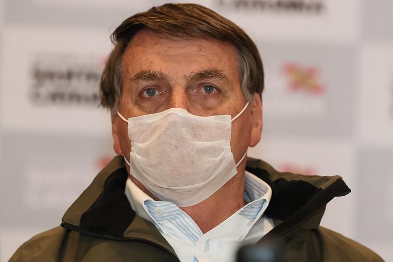 Bolsonaro já chamou a Covid-19 de gripezinha e resfriadinho