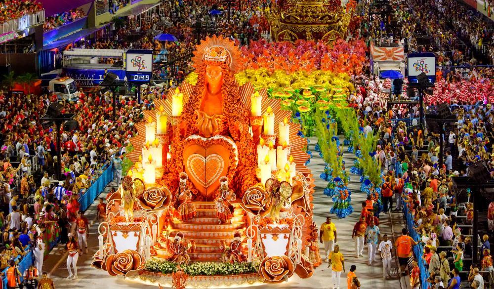 Desfile da Viradouro, campeã do Carnaval do Rio de Janeiro 2020